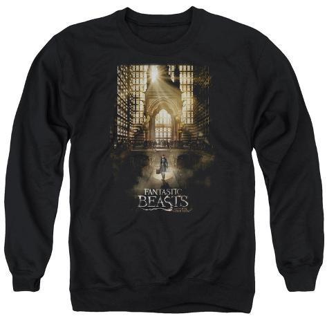 Crewneck Sweatshirt: Fantastic Beasts- Grand Arrival Crewneck Sweatshirt