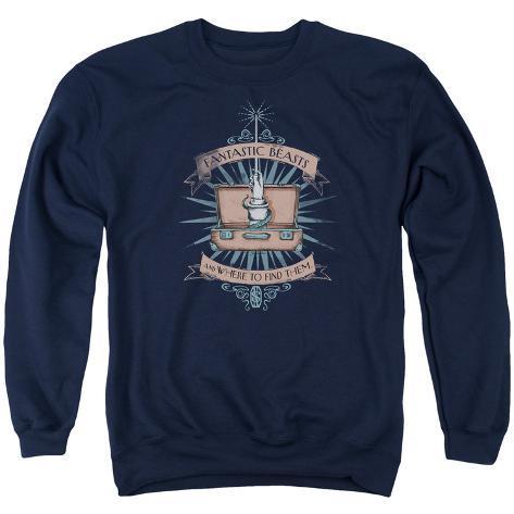 Crewneck Sweatshirt: Fantastic Beasts- Trunk Magic Crewneck Sweatshirt
