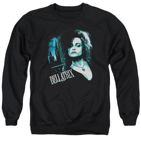 Crewneck Sweatshirt: Harry Potter- Bellatrix Closeup Crewneck Sweatshirt