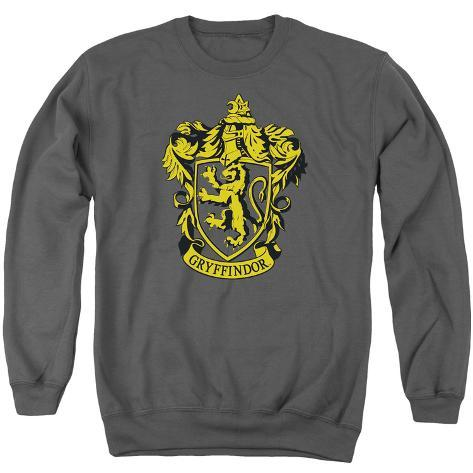 Crewneck Sweatshirt: Harry Potter- Gryffindor Crest Crewneck Sweatshirt