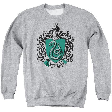 Crewneck Sweatshirt: Harry Potter- Slytherine Crest Crewneck Sweatshirt