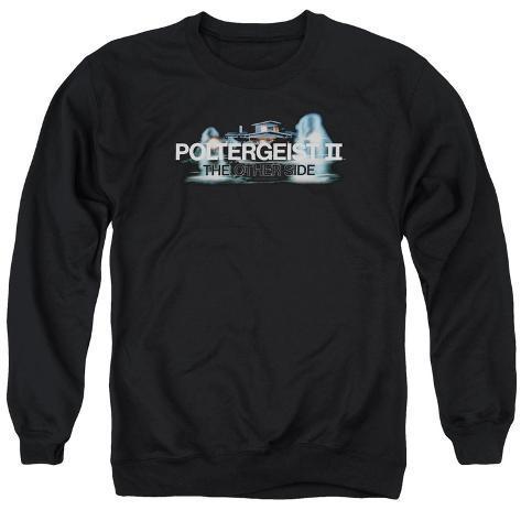 Crewneck Sweatshirt: Poltergeist II- Haunted Logo Crewneck Sweatshirt