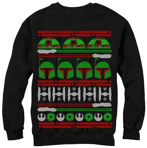 Crewneck Sweatshirt: Star Wars- Epic Sweater Crewneck Sweatshirt
