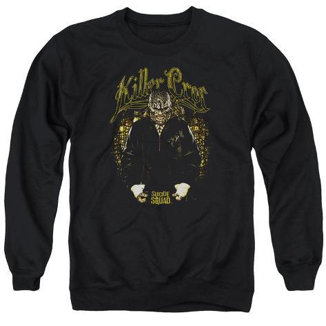 Crewneck Sweatshirt: Suicide Squad- Killer Croc Skin Crewneck Sweatshirt