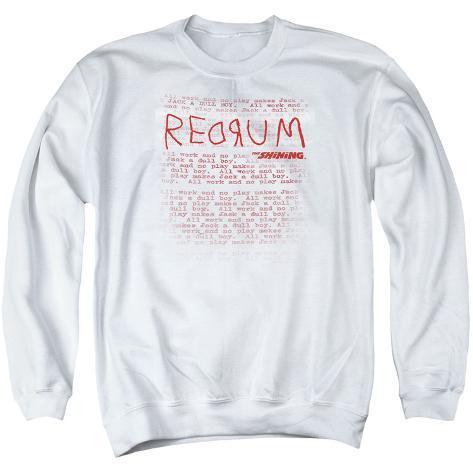 Crewneck Sweatshirt: The Shining/Redrum Scrawl Crewneck Sweatshirt