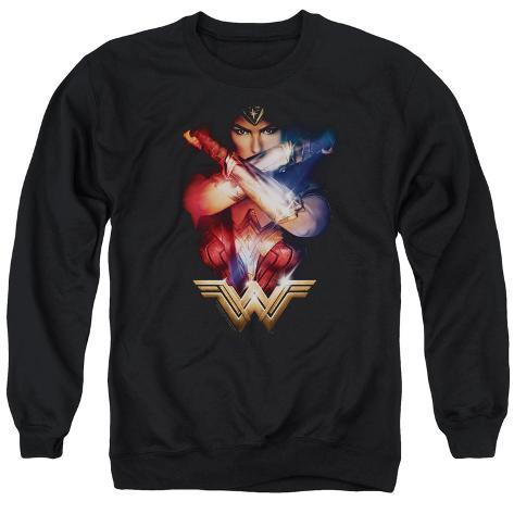 Crewneck Sweatshirt: Wonder Woman Movie - Arms Crossed Crewneck Sweatshirt