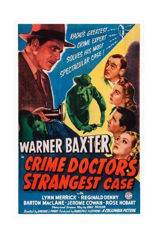 Crime Doctor's Strangest Case Giclee Print