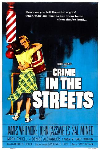 Crime in the Streets Art Print