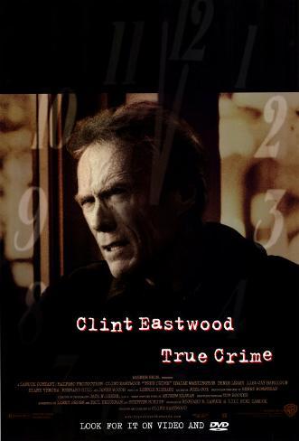 Crime Verdadeiro Pôster original