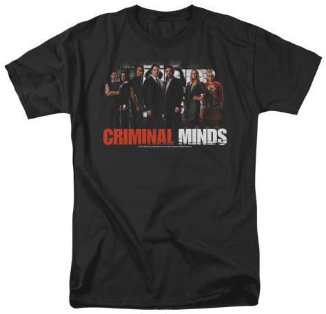 Criminal Minds - The Brain Trust T-Shirt