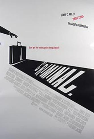 Criminal Original Poster
