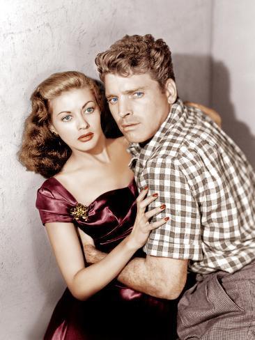 Criss Cross, Yvonne De Carlo, Burt Lancaster, 1949 Foto