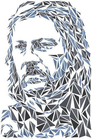 Eddard Stark Art Print