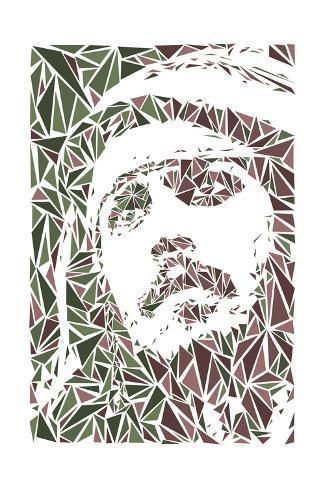 Jack Sparrow Impressão artística