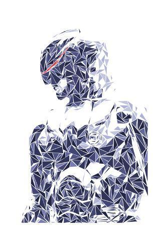 Robocop, O Policial do Futuro Impressão artística