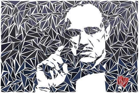 Vito Corleone Lámina