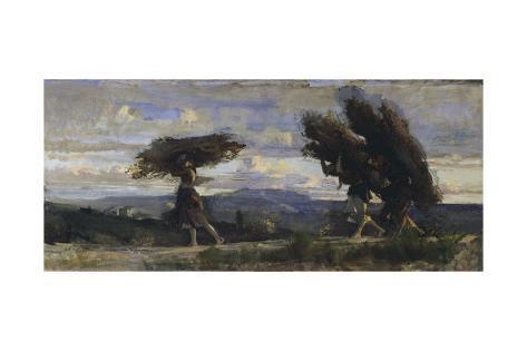Boscaiole, 1881 Giclee Print