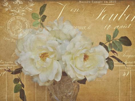 Heirloom Bouquet 3 Art Print