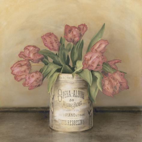 Royal Tulips Art Print
