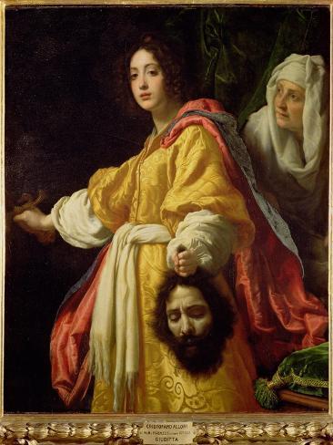 Judith with the Head of Holofernes, circa 1615 Giclée-vedos