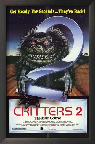 Critters 2 Main Course Framed Art Print