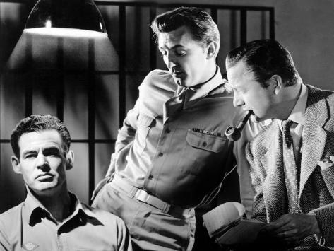 Crossfire, Robert Ryan, Robert Mitchum, Robert Young, 1947 写真