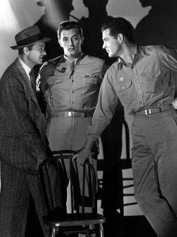 Crossfire, Robert Young, Robert Mitchum, Robert Ryan, 1947 Foto