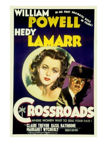 Crossroads, Hedy Lamarr, William Powell, 1942 Foto