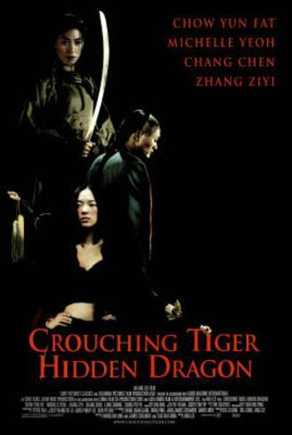 Crouching Tiger Hidden Dragon Movie Chow Yun Fat Poster Print Poster