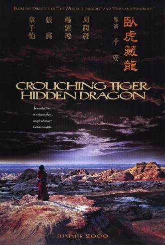 Crouching Tiger Hidden Dragon Poster