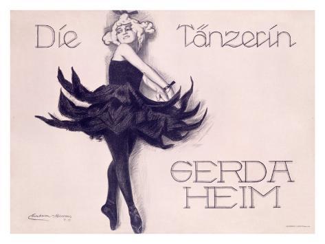Die Tanzerin Giclee Print