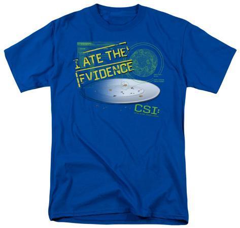 CSI - I Ate the Evidence T-Shirt