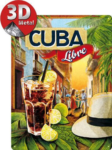 Cuba Libre Peltikyltti