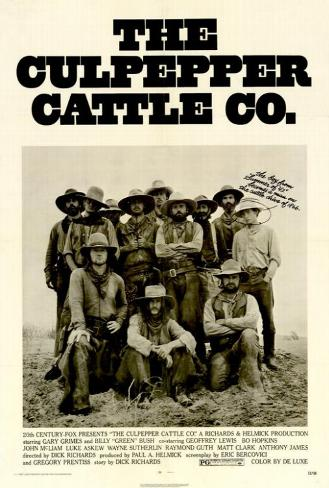 Culpepper Cattle Company Poster