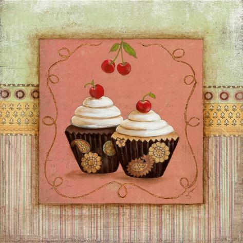 Cupcake Delight II Art Print