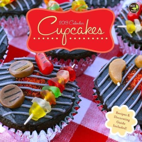 Cupcakes - 2013 Calendar with recipes Calendars