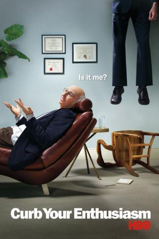 Curb Your Enthusiasm - Is it me? Poster