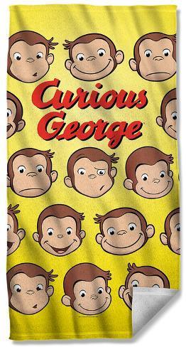 Curious George - Heads Beach Towel Beach Towel