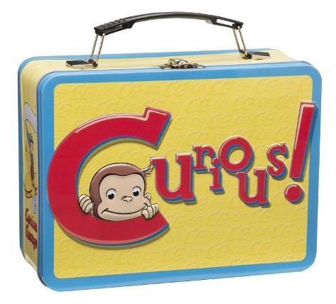 Curious George Large Tin Lunch Box Lunch Box