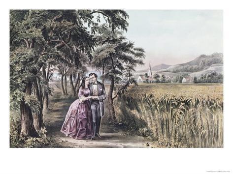 Four Seasons of Life: Season of Love Lámina giclée