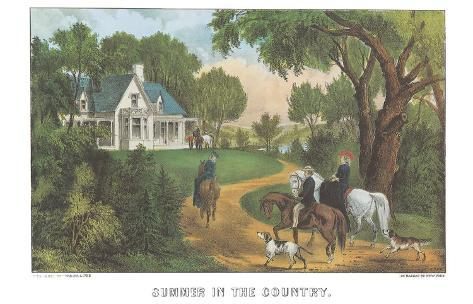 Summer in the Country Art Print