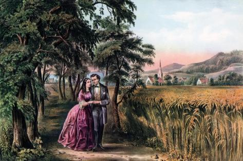 The Season of Love, Youth, 1868 Giclée-vedos
