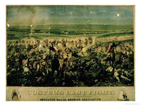 Custer's Last Fight, 25 June 1876 Giclee Print