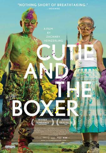 Cutie and the Boxer Movie Poster Masterprint