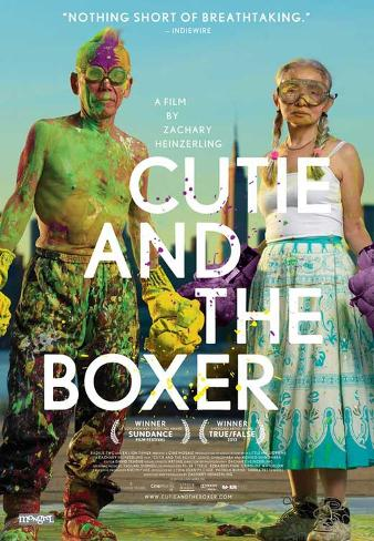 Cutie and the Boxer Movie Poster マスタープリント