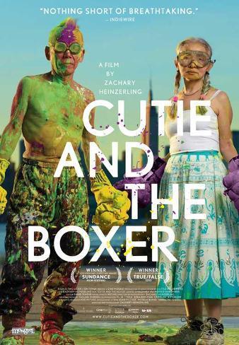Cutie and the Boxer Movie Poster Impressão original