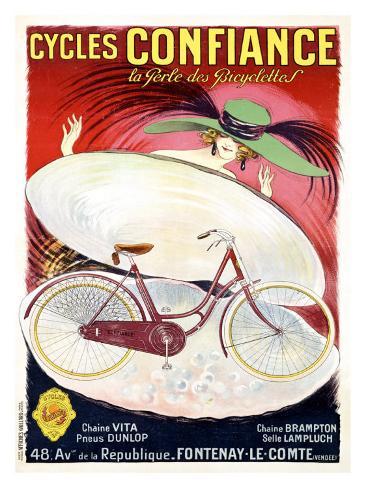 Cycles Confiance Giclee Print