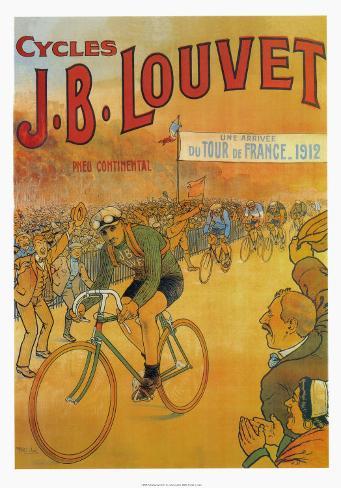 Cycles J.B. Louvet Konstprint