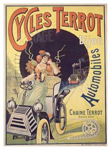Cycles Terrot Giclee Print