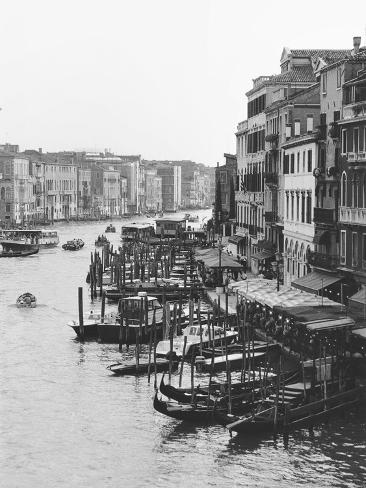 Array of Boats, Venice Photographic Print